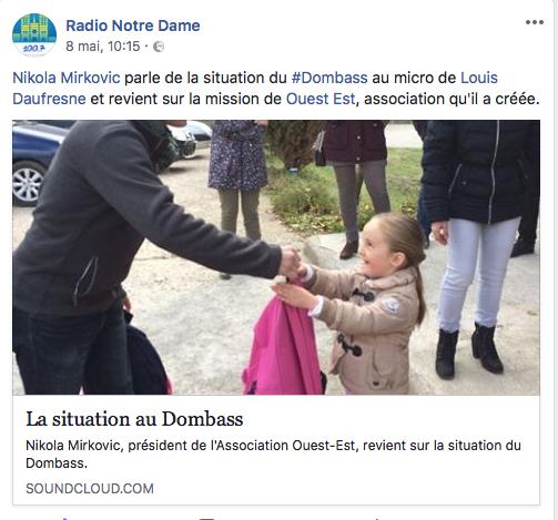 Ouest – Est sur Radio Notre Dame