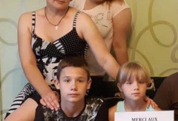 Ca y est nous avons acheté un nouvel appartement pour Olya Sidorenko et ses 5 enfants !